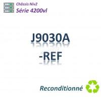 HPE/Aruba 4200vl Refurbished Chassis  68G_4SFP_5 slots libres