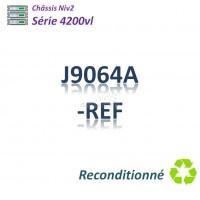 HPE/Aruba 4200vl Refurbished Chassis  44G_4SFP_2 slots libres