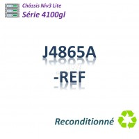 HPE/Aruba 4100 gl Refurbished Chassis 8 slots libres