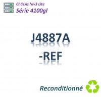 HPE/Aruba 4100 gl Refurbished Chassis 4 slots libres