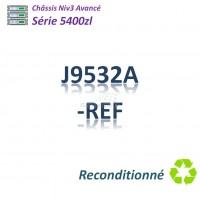 HPE/Aruba 5400zl Refurbished Chassi 92G_4SFP+_PoE+_8slots