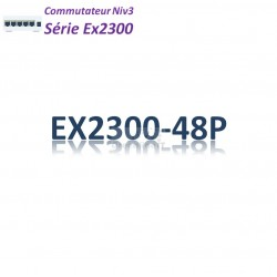 Juniper EX2300 Switch 48G_4SFP/SFP+_PoE+(740w)