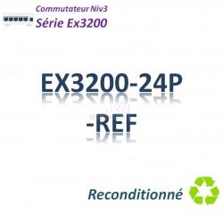 Juniper EX3200 Refurbished Switch 24G_PoE(410w)_1slot