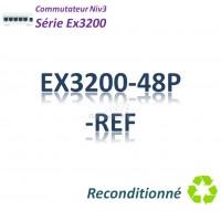 Juniper EX3200 Refurbished Switch 48G_PoE(740w)_1slot