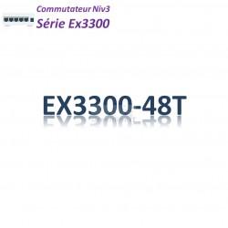 Juniper EX3300 Switch 48G_4SFP/SFP+