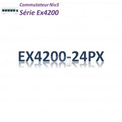 Juniper EX4200 Switch 24G_24PoE+(740w)_1 slot