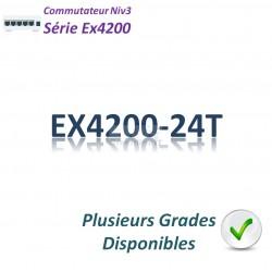 Juniper EX4200 Switch 24G_8PoE(130w)_1 slot