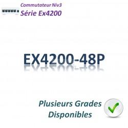 Juniper EX4200 Switch 48G_48PoE_1 slot