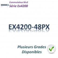 Juniper EX4200 Switch 48G_48PoE+(740w)_1 slot