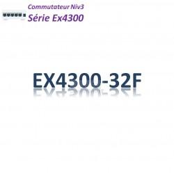 Juniper EX4300 Switch 32SFP_4SFP+_2QSFP+_AFO_1slot