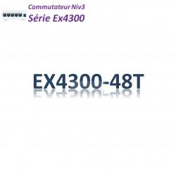Juniper EX4300 Switch 48G_4QSFP+_AFO_1slot