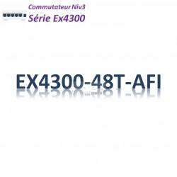 Juniper EX4300 Switch 48G_4QSFP+_AFI_1slot