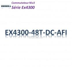 Juniper EX4300 Switch 48G_4QSFP+_DC_AFI_1slot
