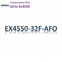 Juniper EX4550 Switch 32SFP/SFP+_AFO_2slots