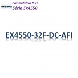 Juniper EX4550 Switch 32SFP/SFP+_DC_AFI_2slots