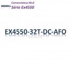 Juniper EX4550 Switch 32x 10GBase-T_DC_AFO_2slots