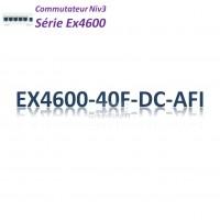 Juniper EX4600 Switch 24SFP/SFP+_4QSFP+_DC_AFI_2slots