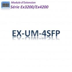 Juniper Module d'extention 4SFP