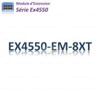 Juniper EX4550 Module d'extention 8x 100/1G/10GBase-T