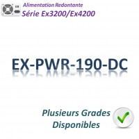 Juniper EX3200/EX4200 Alimentation 190w_DC