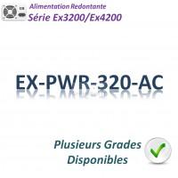 Juniper EX3200/EX4200 Alimentation 320w_AC