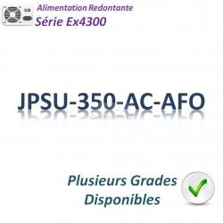 Juniper EX4300 Alimentation 350w_AC_AFO (front-to-back)