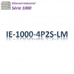Cisco Industrial 1000 Switch 4G_2SFP_PoE+