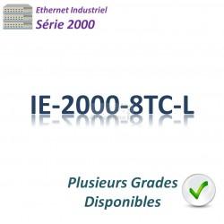 Cisco Industrial 2000 Switch 8x 10/100_2x FE SFP combo _LAN Lite