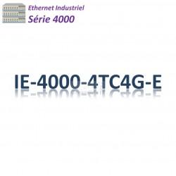 Cisco Industrial 4000 Switch 4x FE SFP combo_4x GE SFP combo_LAN Base