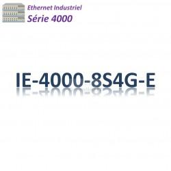 Cisco Industrial 4000 Switch 8x FE SFP_4x GE SFP combo _LAN Base