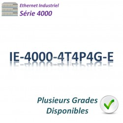 Cisco Industrial 4000 Switch 8x 10/100_4x GE SFP combo_4x PoE+_LAN Base