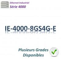 Cisco Industrial 4000 Switch 4x GE SFP_4x GE SFP combo _LAN Base