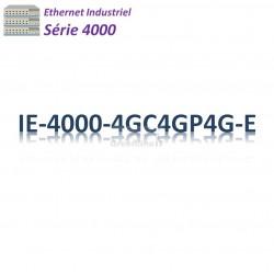 Cisco Industrial 4000 Switch 4G_8x GE SFP combo_4x PoE+_LAN Base