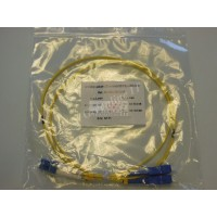 Jarretière optique duplex Monomode OS2 LC-SC 1m