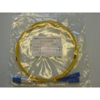 Jarretière optique duplex Monomode OS2 LC-SC 2m