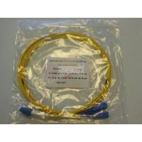 Jarretière optique duplex Monomode OS2 LC-SC 3m