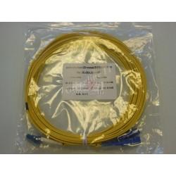 Jarretière optique duplex Monomode OS2 LC-SC 10m