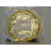 Jarretière optique duplex Monomode OS2 LC-ST 2m