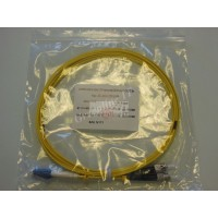 Jarretière optique duplex Monomode OS2 LC-ST 3m