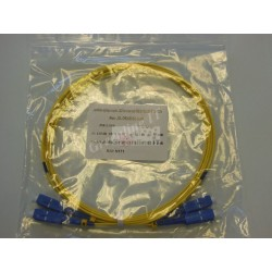 Jarretière optique duplex Monomode OS2 SC-SC 2m