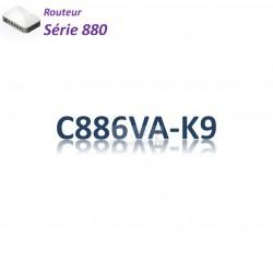 Cisco 880 Routeur 4x 10/100(2PoE)_VDSL2/ADSL2+_BRI ST_IP