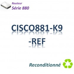 Cisco 880 Refurbished Routeur 4x 10/100_Security