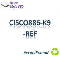 Cisco 880 Refurbished Routeur 4x 10/100_ ADSL2+_BRI ST_Security