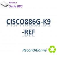 Cisco 880 Refurbished Routeur 4x 10/100_ ADSL2+_BRI ST_ 3G WWAN_Security