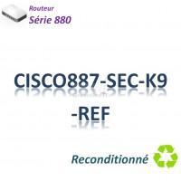 Cisco 880 Refurbished Routeur 4x 10/100_ ADSL2+_BRI ST_IP