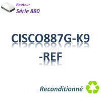 Cisco 880 Refurbished Routeur 4x 10/100_ ADSL2+_Security
