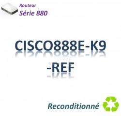 Cisco 880 Refurbished Routeur 4x 10/100_ SHDSL_BRI ST_Security
