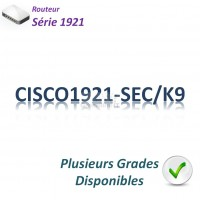 Cisco1921 Routeur 2x 1GBase-T_Security