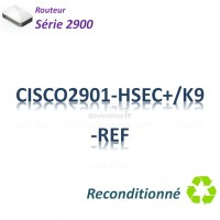 Cisco 2900 Refurbished Routeur 2x 1GBase-T_Security
