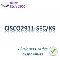 Cisco 2900 Routeur 3x 1GBase-T_Security